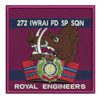 272 (WRA) FLD SPT SQN Embroidered Polo Shirt